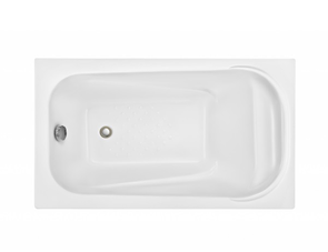 Ванна акриловая Леля 1200x700 Дана