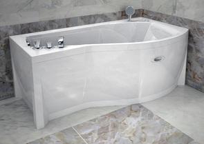 Ванна акриловая Vanessa Миранда 168х95