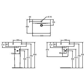 Раковина подвесная Ideal Standard Connect Cube E794501