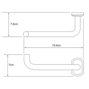 Держатель туалетной бумаги Wasser Kraft K-3096