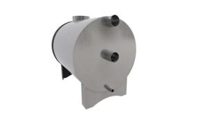 Печь наружная для купели мощностью 45 кВт PolarSpa