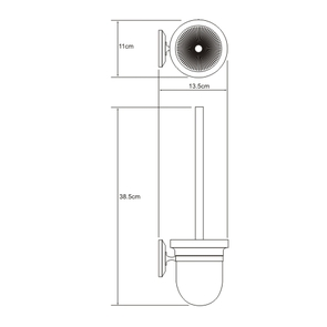 Щетка для унитаза подвесная Wasser Kraft K-6227