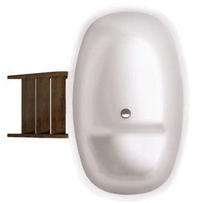 Купель композитная круглая «Стандарт++» PolarSpa 98х175 термоясень