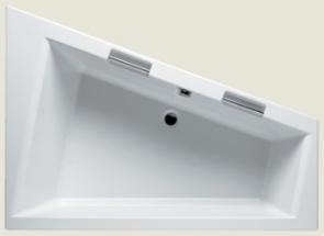 Ванна акриловая Riho Doppio 180x130x52/395л