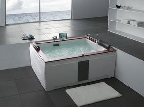 Ванна акриловая Gemy G9052-II K 190x150x76