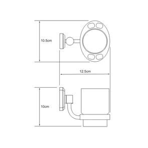 Подстаканник стеклянный Wasser Kraft K-3028